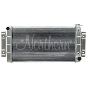 Northern 205142 55 57 Chevy Hotrod Belair Crossflow Conversion Aluminum Radiator