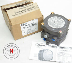 Dwyer 1950 1 2f Pressure Switch Explosion Proof 480v 15a 11kpa Max Press