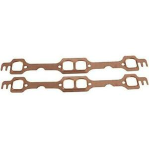 Small Block Chevy Copper Exhaust Gasket D Port Heads