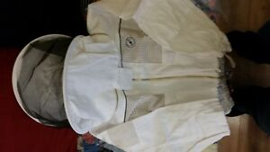 Humble Bee 332 Ventilated Beekeeping Jacket With Square Veil x Small