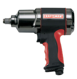 Craftsman 1 2 Heavy Duty Twin Hammer Air Impact Wrench 919984 722470174394 New