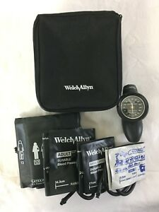 Welch Allyn Ds58 Tycos Classic Hand Aneroid Sphygmomanometer Multicuff Gauge