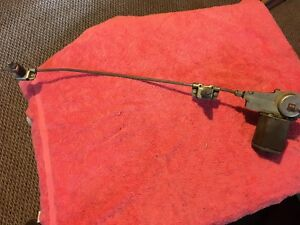 Early Mgb Complete Wiper Motor Assembly With Mounting Plate Assembly