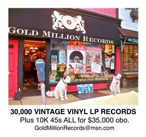 Opportunity Knocks Phl Record Store Inventory 40 000 Lps 45s Only 35 000 Obo