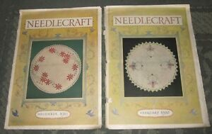 2 December 1919 And February 1920 Publications Needlecraft