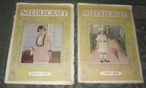 2 March 1920 And April 1920 Publications Needlecraft