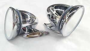 Mini Minor Morris Mgb Cooper Gt Austin Sprite Healey Cone Stainless Mirrors