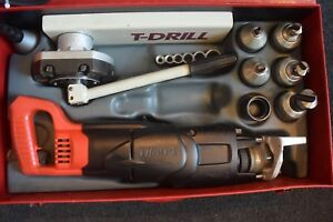 T drill T 65 Copper Pipe Notcher Tool Accessory With 6 Bits 110 Volts 60
