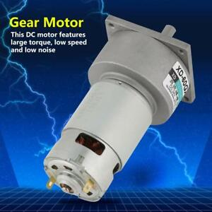 35w Micro Dc Metal Gear Motor Speed Adjustable Cw ccw 24v 50rpm Rh