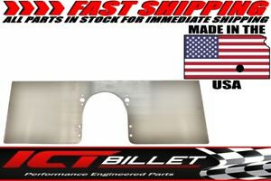 Sbc Front Engine Plate Aluminum Solid Motor Mount Small Block Chevy