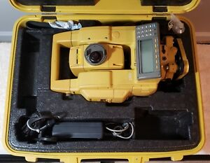 Topcon Gts 802a Electronic Total Station W Case Charger