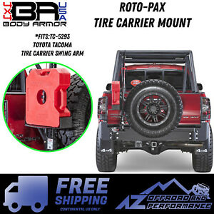 Body Armor 4x4 Roto Pax Tire Carrier Mount Fits Tc 5293 Free Shipping