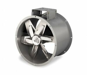 Dayton 3c411 Tubeaxial Fan 24 Blade Diameter Belt Drive New