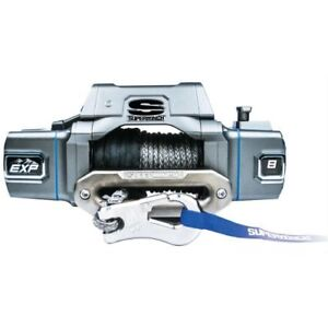 Superwinch S102734 Exp 8 Si Winch 8 000 K Lbs 12v 100 Ft Synthetic Rope