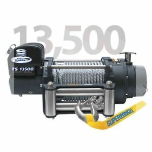 Superwinch 1513200 Winch tiger Shark 13500 12v Pull Rating 13 500 Lbs