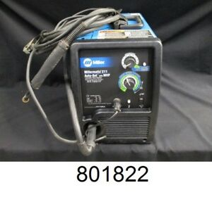 Miller Millermatic 211 Mig Welder With Advanced Auto set