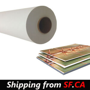 30 x165ft removable White Self adhesive Printing Window Vinyl Sticker Matte