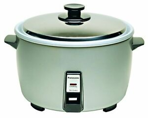 Panasonic Sr 42hzp 23 cup Uncooked Commercial Rice Cooker nsf Approved Stai