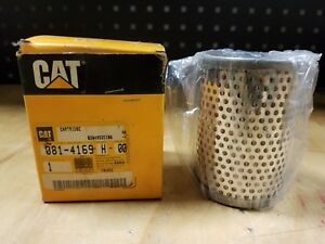 Genuine Caterpillar Cat Compactor Hydraulic Filter Element 081 4169 New