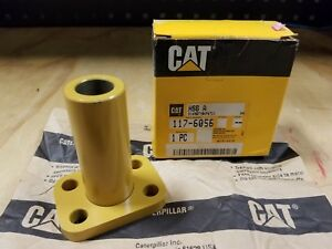 Genuine Caterpillar Cat Compactor loader Steering Shaft Control Housing 117 6056