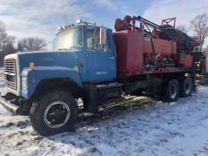 Ford Geothermal Well Drilling Rig Truck With Grouting Trailer