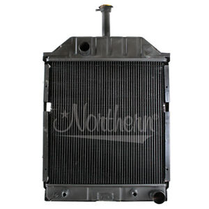 Northern 219857 Ford 455 550 555b 655a Radiator W Oil Cooler E0nn8005fa 15l