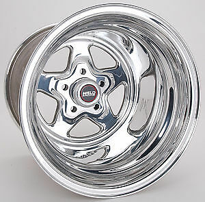 15x15 Weld Racing Pro Star Drag Wheel 5x4 5 4 5 Bs W 96 515208 Prostar