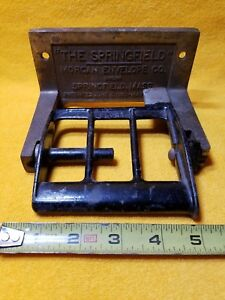 Antique Toilet Paper Holder The Springfield Morgan Envelope Co Cast Iron