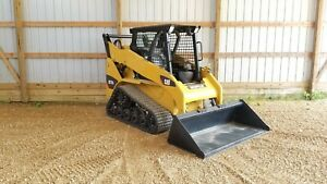 Low Hour 1 Owner 2012 Caterpillar 257b3 Track Skid Steer Loader Cat 257b 257