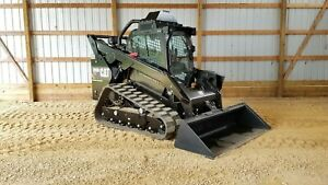 2016 Caterpillar 299d2 Xhp Cab Heat Air Track Skid Steer Loader Cat 299d Xhp