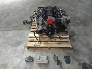 2000 Corvette C5 Complete Engine Ls1 Drop Out 5 7 350hp 38k Aa6375