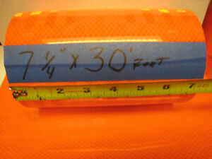 Neon Orange Reflective Conspicuity Tape 7 1 4 X 30 Feet Thick