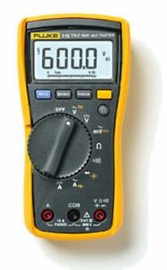 Fluke F115 115c Field Multimeter 1000uf Backlight