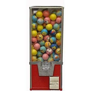 Gumball Machachine Factory Big Pro 2 Toy Capsule Vending Machine 20 Tall Metal