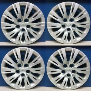 2012 2014 Toyota Camry 61163 16 Hubcaps Wheel Covers 4260206091 Set 4