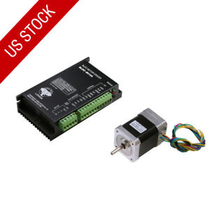 Us Ship 1axis Brushless Dc Motor Nema17 42blf02 3phase dc Motor Driver 18 80vdc