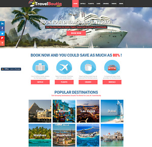 Established Profitable Fully Automated Turnkey Travel Website Business For Sale