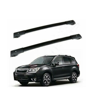 Fits For 2009 2013 Subaru Forester Roof Rack Cross Bars Rails Carrier Oe Style