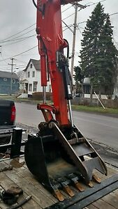 New 40mm Mini Excavator Hydraulic Thumb Kubota Kx 91 Takeuchi Cat