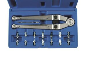 Laser 7412 Adjustable Pin Wrench 16 Pins