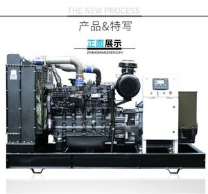 New 175kw Single Phase 60hz Diesel Powered Generator Automatic Transfer Switch