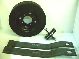 Tail Wheel Hub 2 5 Howse Rotary Cutter Blade 30 1 4 Long Blade 8 Wheel