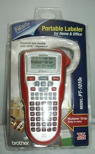 Brother Pt 1010r P touch Home Office Labeler Label Maker Printer Tz Tape New