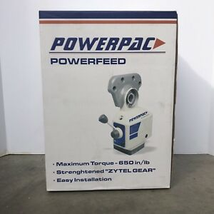 Power Pac Power Feed cross Feed X Axis Powerfeed Max Torque 650 In lb