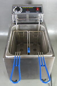 Superior Stainless Steel Countertop Electric Fryer Sf16