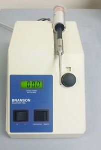 Reduced Branson 150 Sonic Dismembrator And Ultrasonic Converter probe