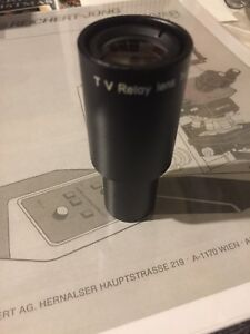 One Nikon Throat Tv Relay Lens 1x 16 eyepiece Photo Video