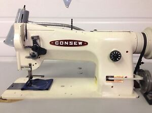 Consew 206rb 4 Walking Foot Big Bobbin 110v Leather Industrial Sewing Machine