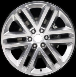 03993 Factory Oem Used 22x9 5 Alloy Wheel Polished Face