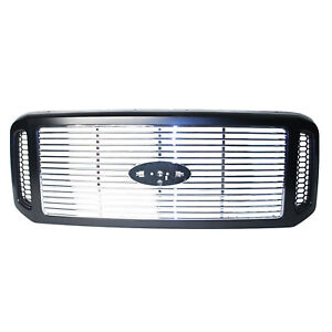 Fo1200458 New Grille Fits 2005 2007 Ford Superduty Harley Davidson